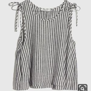 Madewell Linen Swing Top